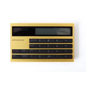 Amadana アマダナ 電子計算機 電卓 カード型電子計算機 カード型電卓