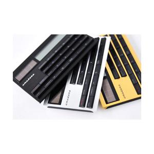 Amadana アマダナ 電子計算機 電卓 カード型 ブラック シルバー ゴールド