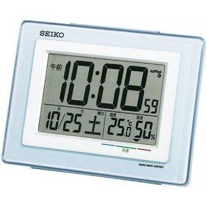 セイコー SEIKO 電波時計 SQ686W 目覚まし時計