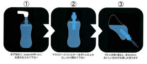 bobble(ボブル) 浄水フィルター付きウォーターボトル