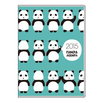 パンダの手帳 A6ウィークリー パンダびより