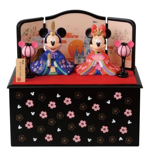 ミッキー&ミニーのひな人形