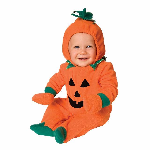 1歳半までのお子様用 かぼちゃの着ぐるみ