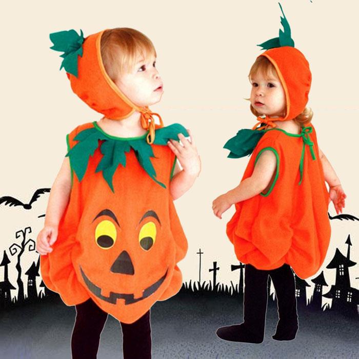 キッズ用 かぼちゃコスチューム