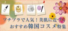2010年プチプラで人気!美肌に近づくおすすめ韓国コスメ特集